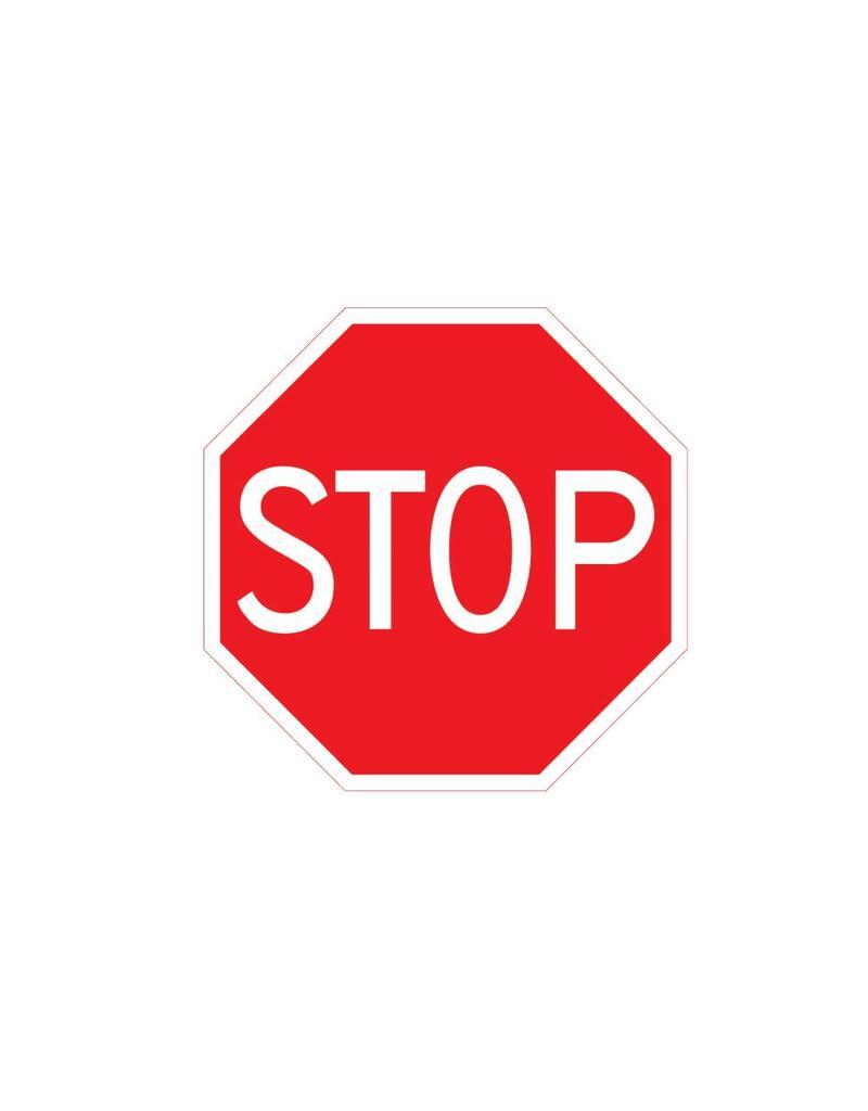 Arrêtez: laisser la priorité