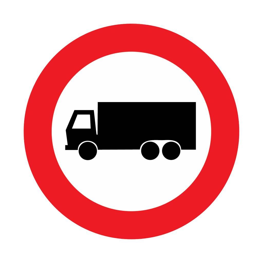 Fermé pour camions