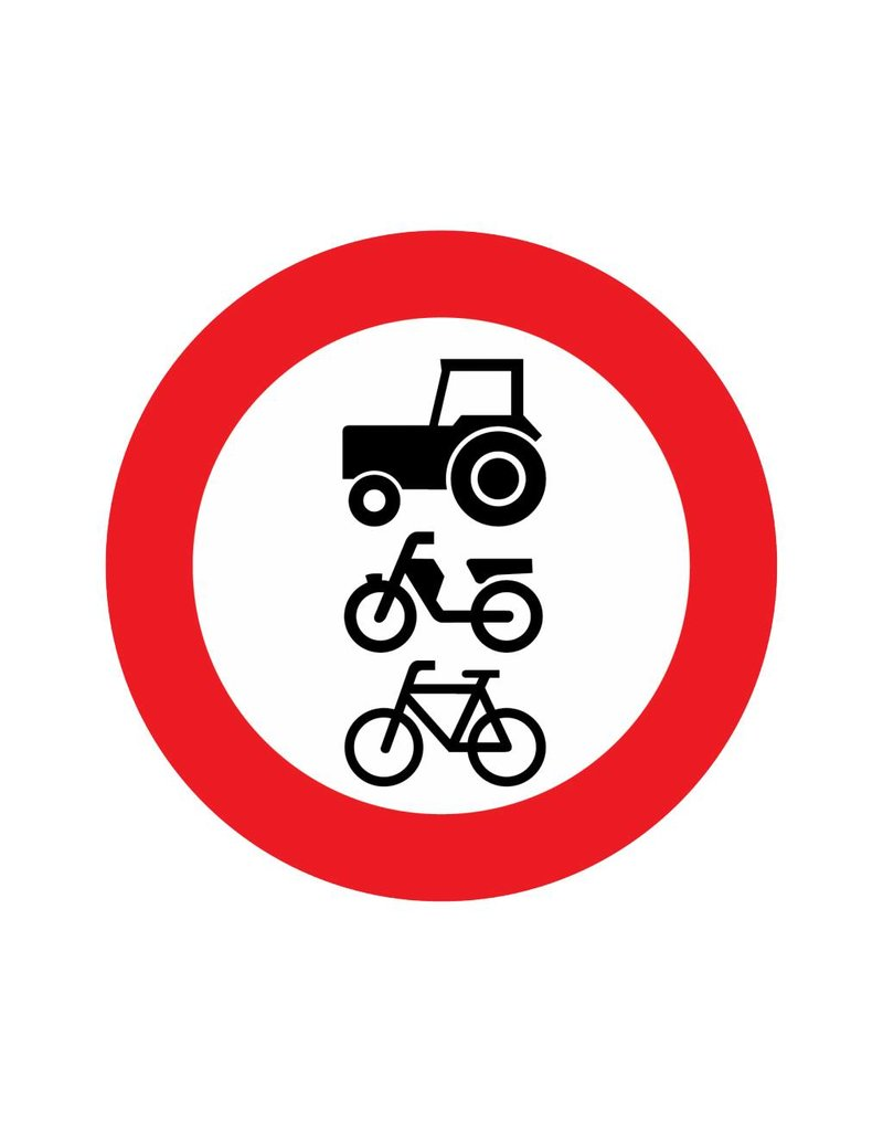For riders, cattle, cars and motor vehicles