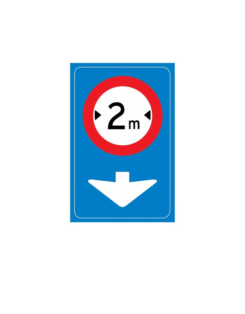 Traffic sign only applicable for current lane