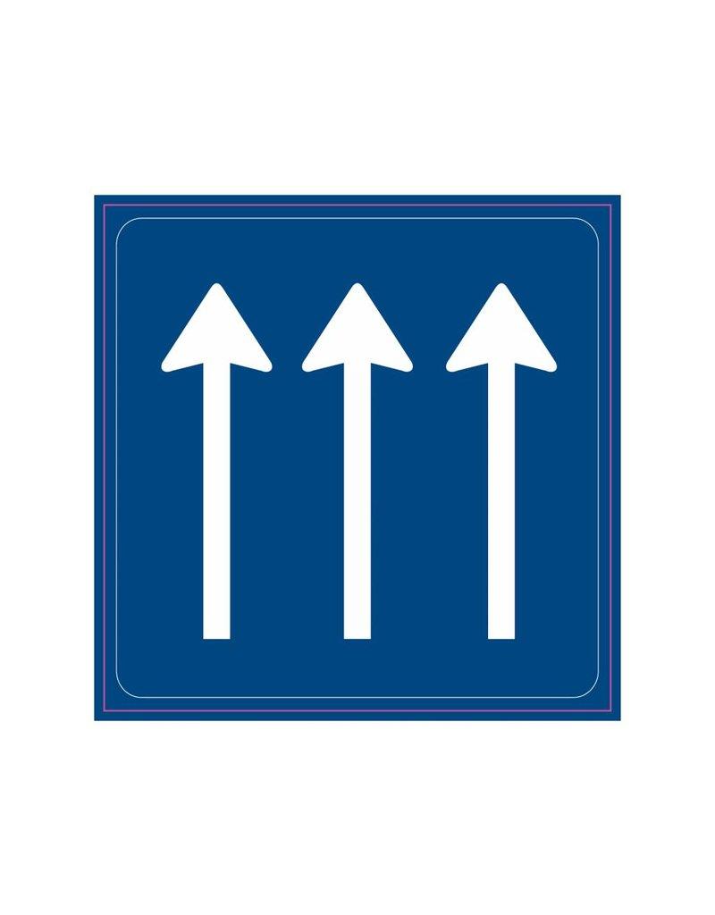 Number of through lanes
