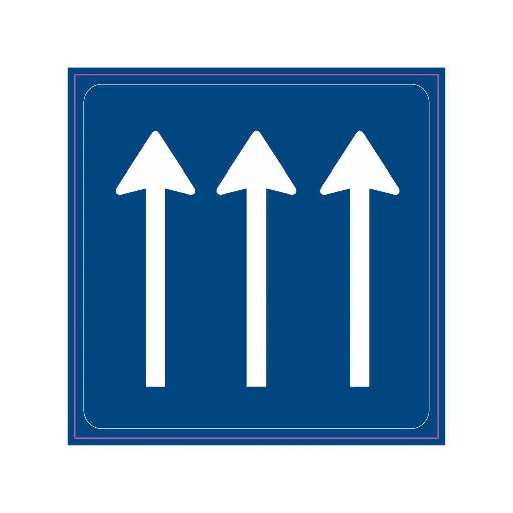 Anzahl der Fahrstreifen