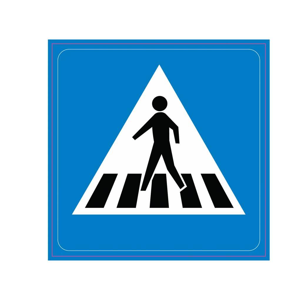 Achtung Fußgängerüberweg