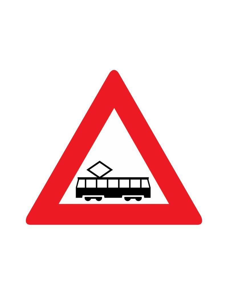Intersection de tram