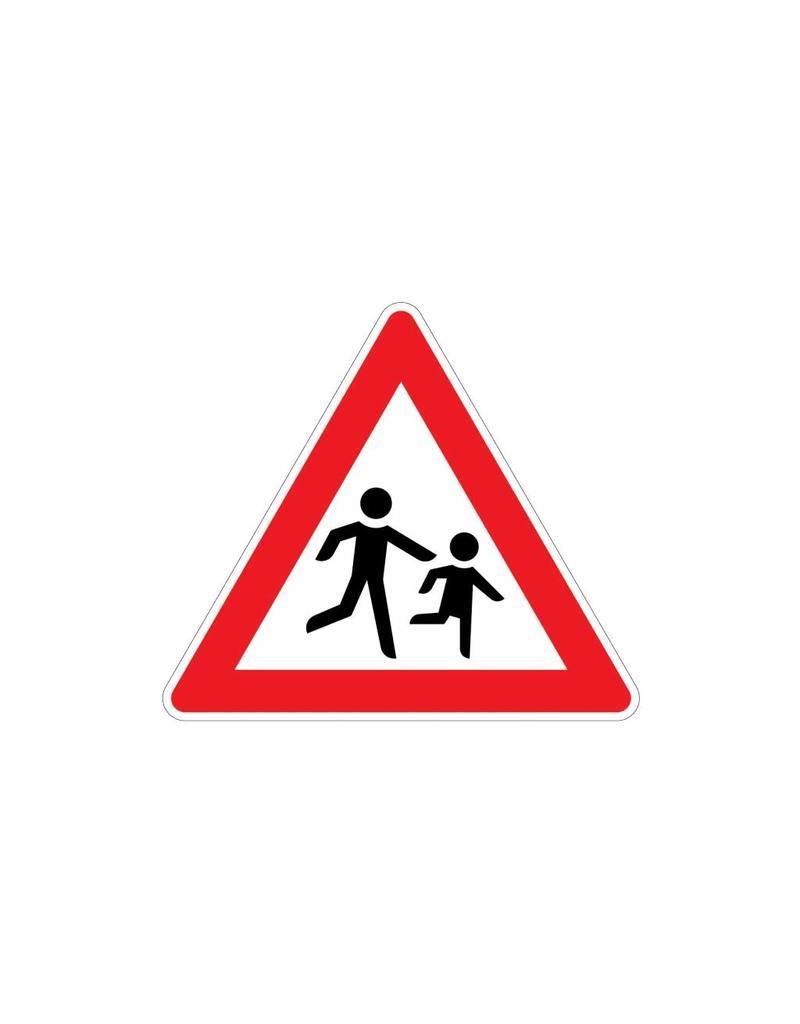 Méfiez-vous Autocollant enfants