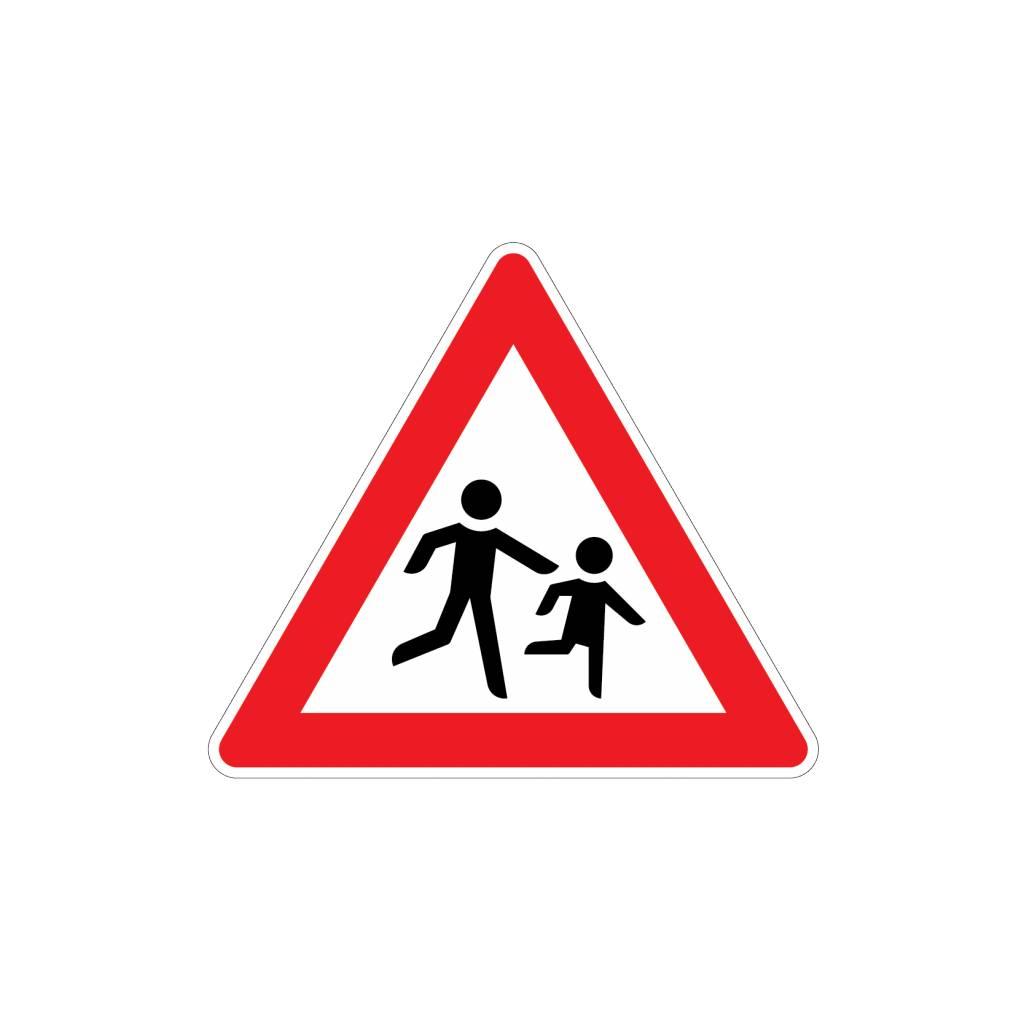 Be aware Children Sticker