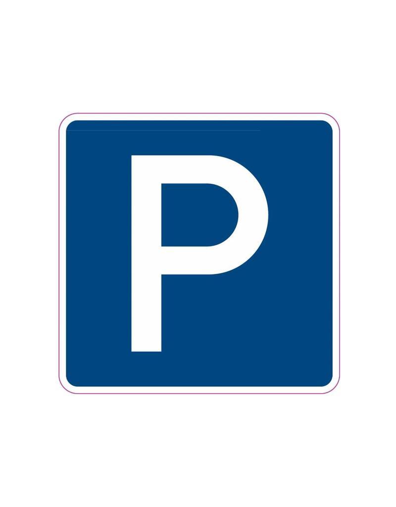 Autocollant de stationnement