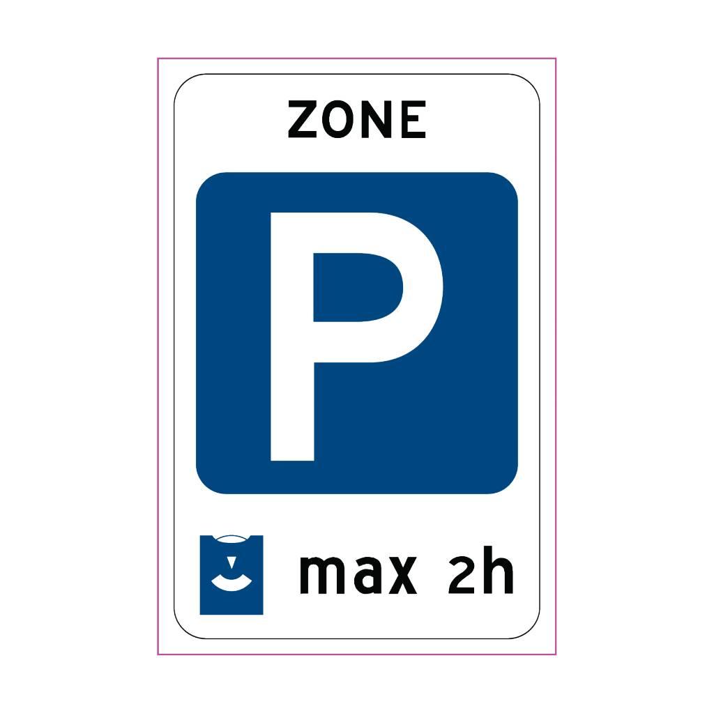 Zone de stationnement
