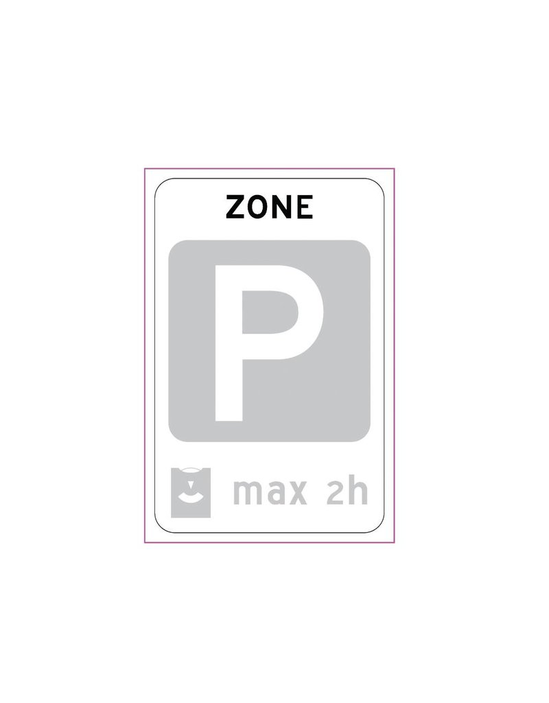 End parking zone card