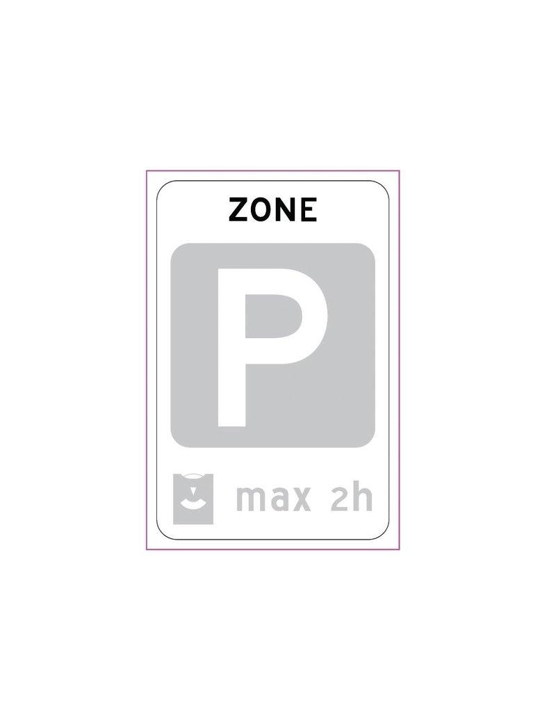 Fin zone disque de stationnement