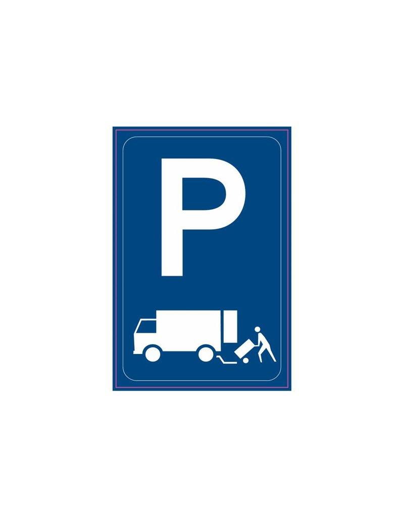 Parken nur für Lieferverkehr