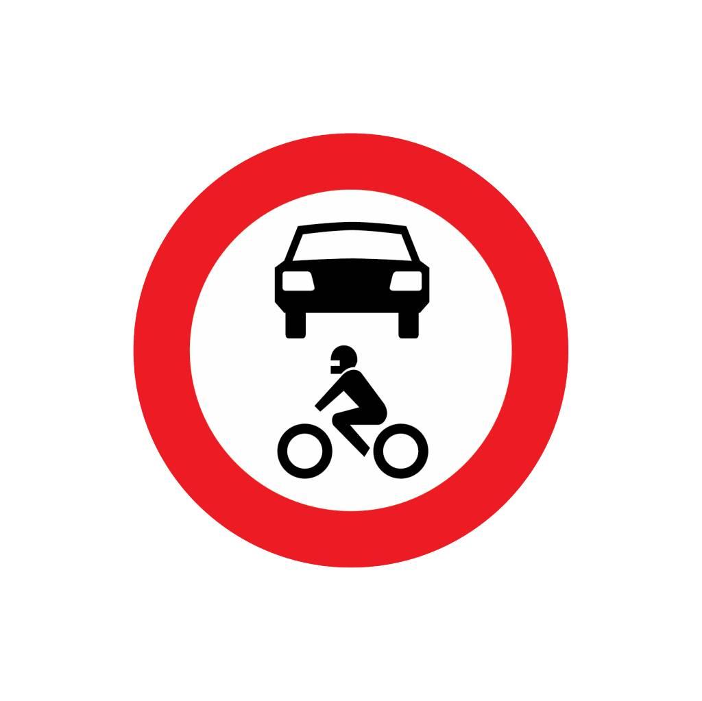 Fermé à tous les véhicules