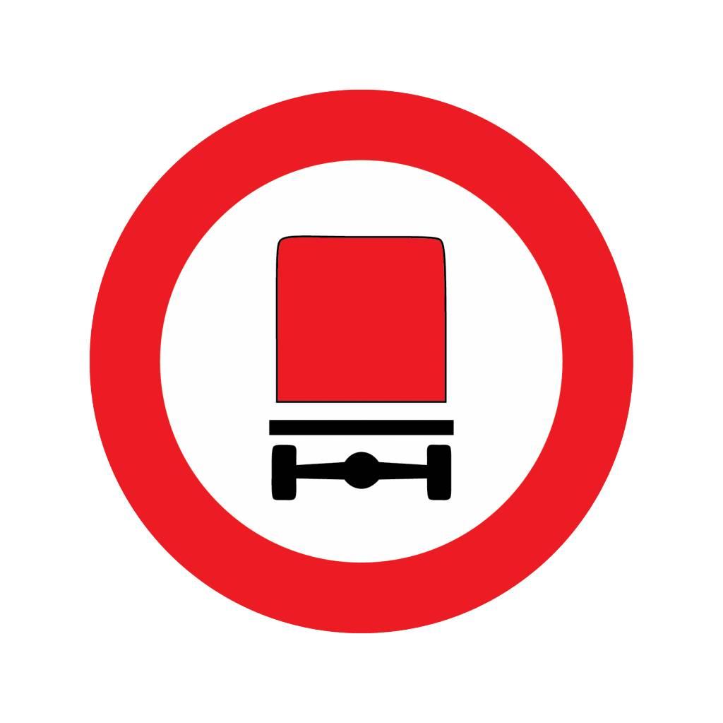 Verbot für Kraftfahrzeuge mit gefährlichen Gütern