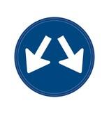 Il faut passer signe travers deux directions