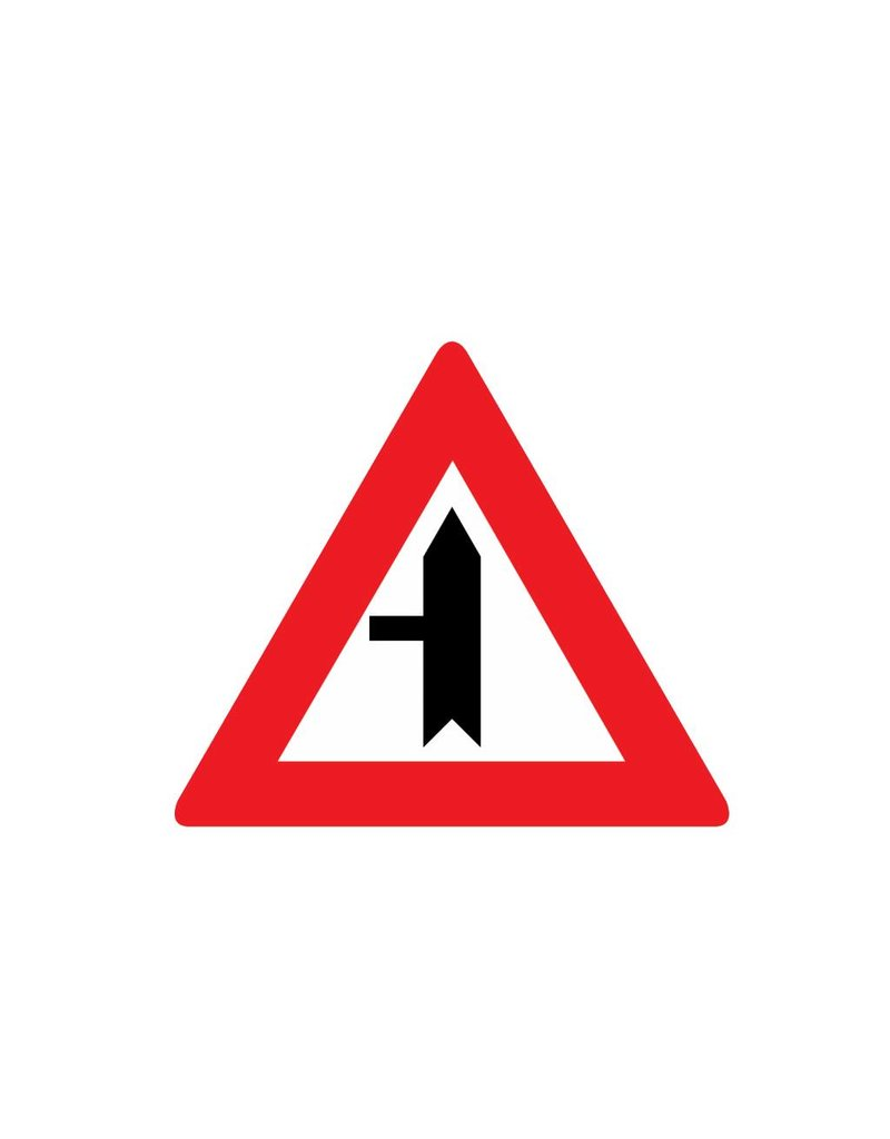 Priority Sign left