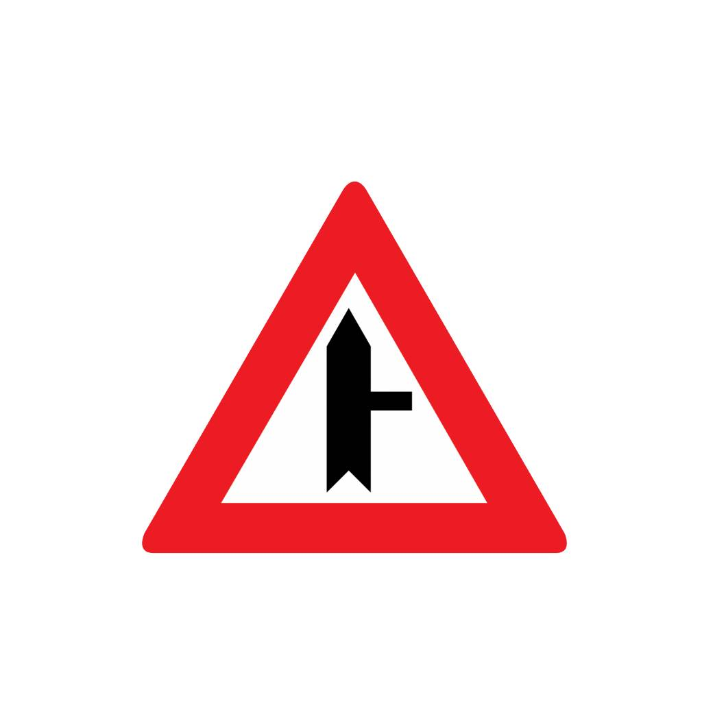 Priority Sign right