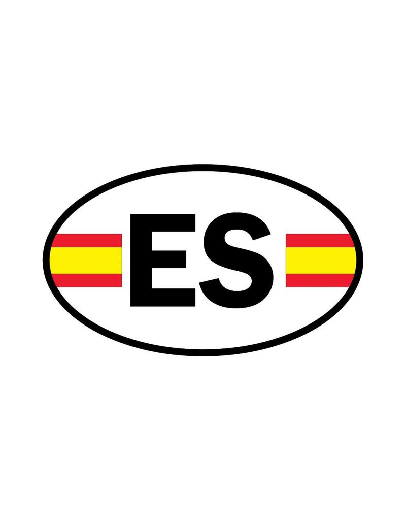 Spanje vlag sticker