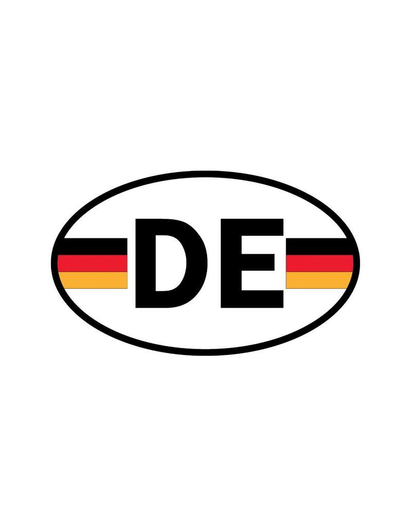 Autocollant drapeau allemand
