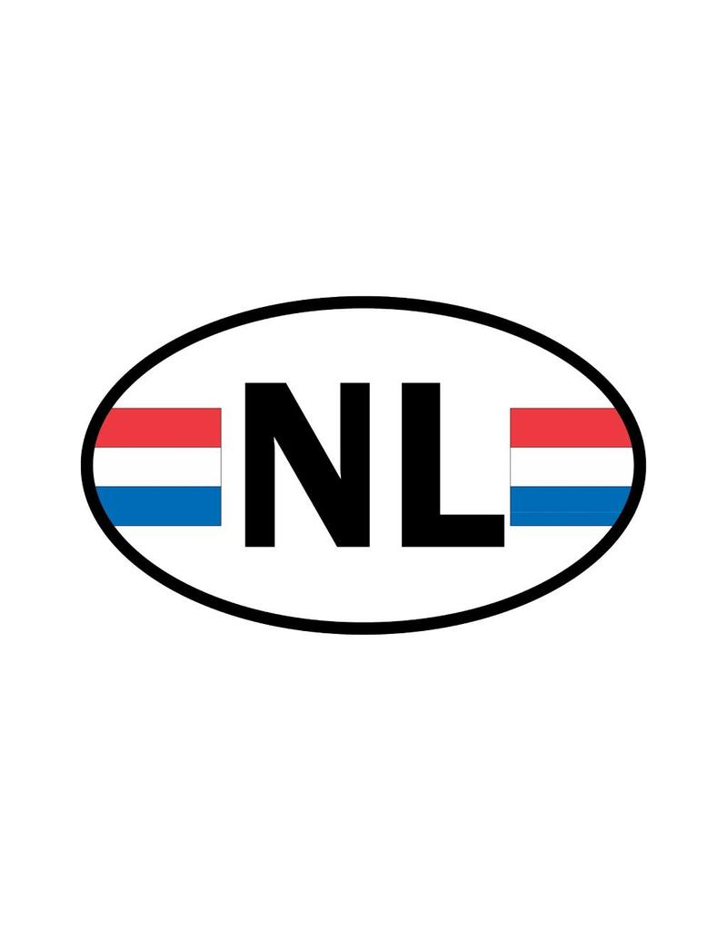 The Netherlands flag sticker