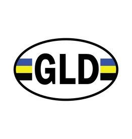 Gelderland provincie sticker