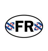 Friesland provincie sticker
