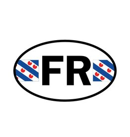 Friesland provincie sticker