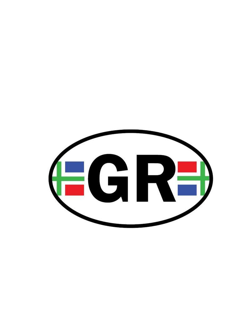Groningen provincie sticker