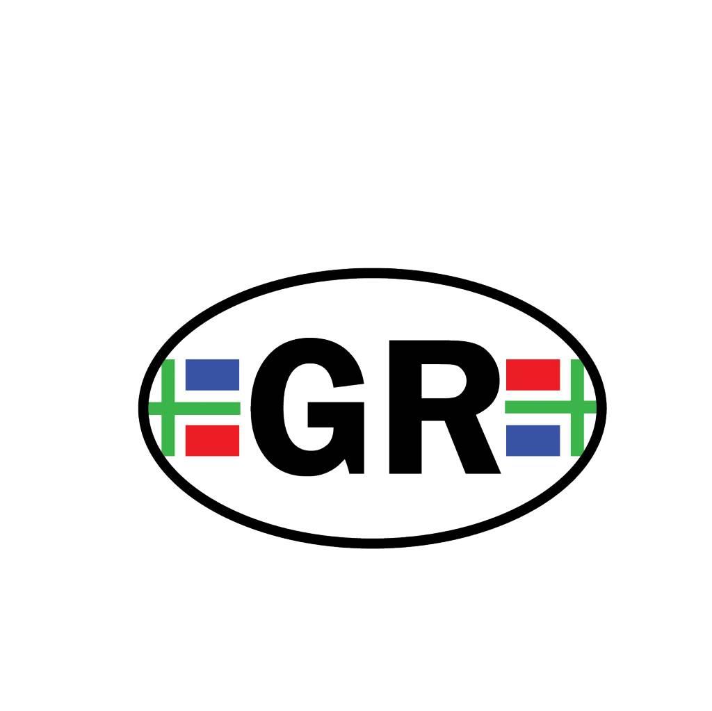 Groningen Provinzaufkleber