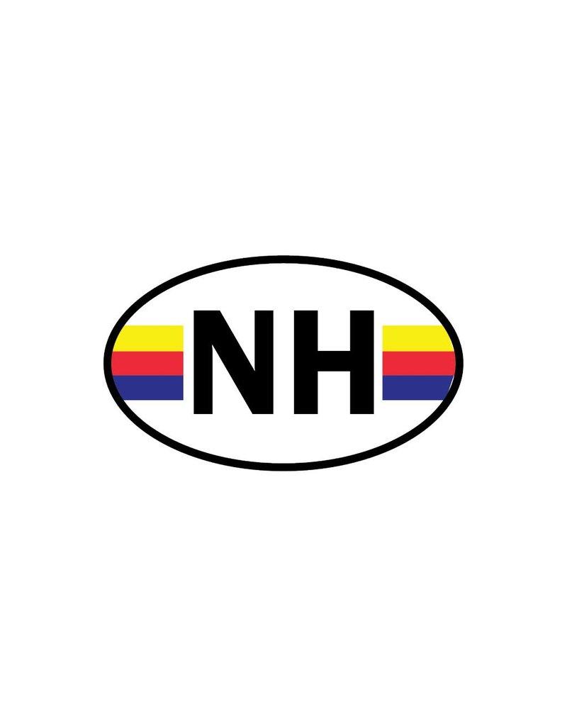 North Holland district sticker