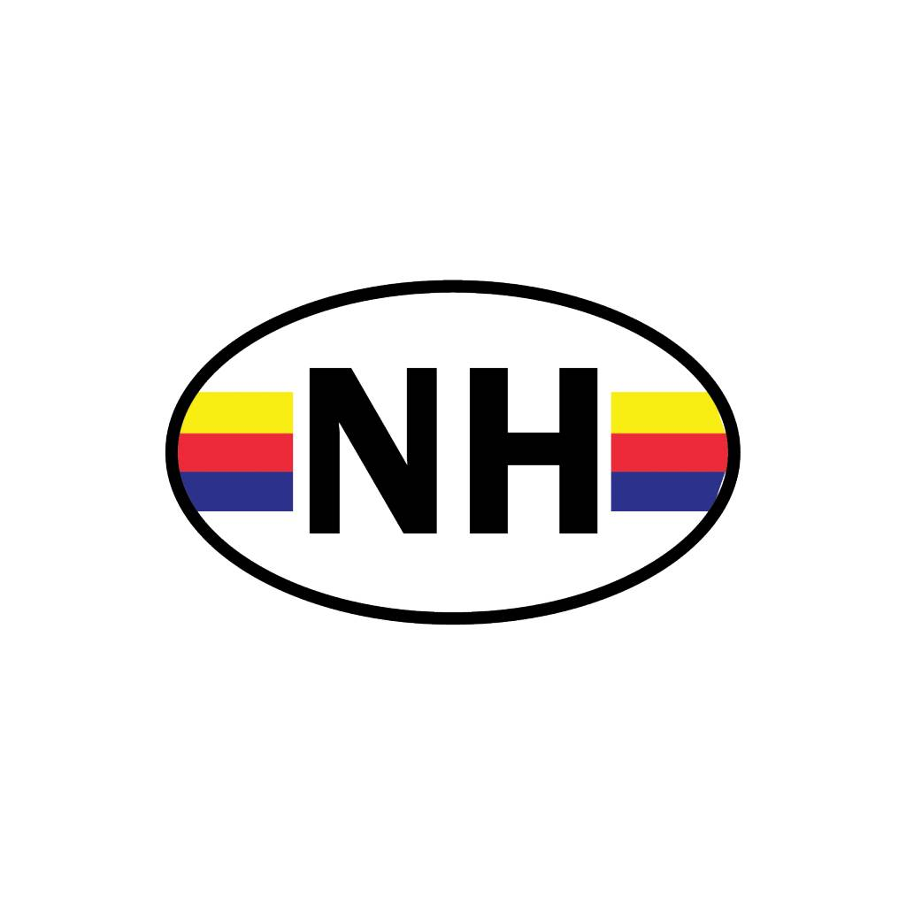 Noord Holland autocollant département