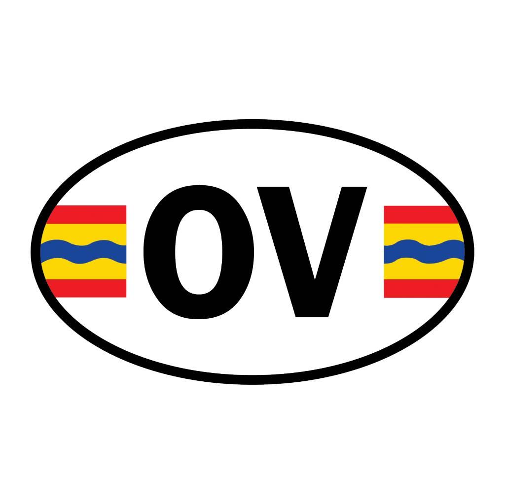 Overijssel district sticker