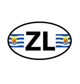 Zélande autocollant département