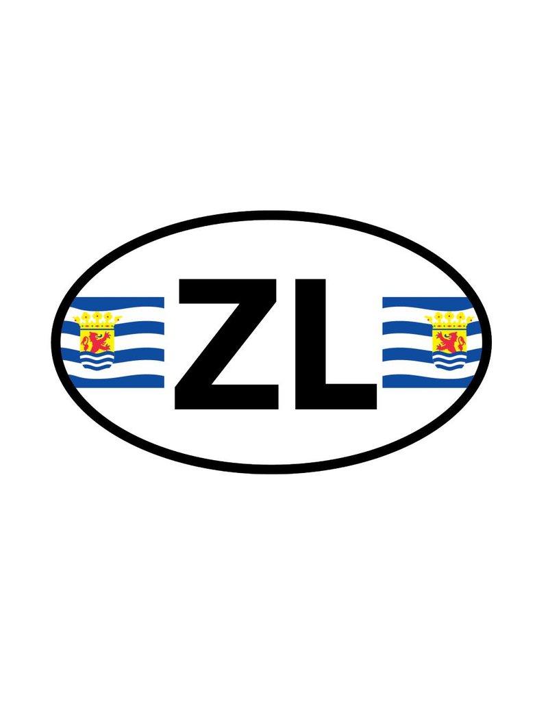 Zeeland district sticker