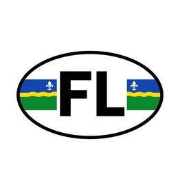 Flevoland district sticker