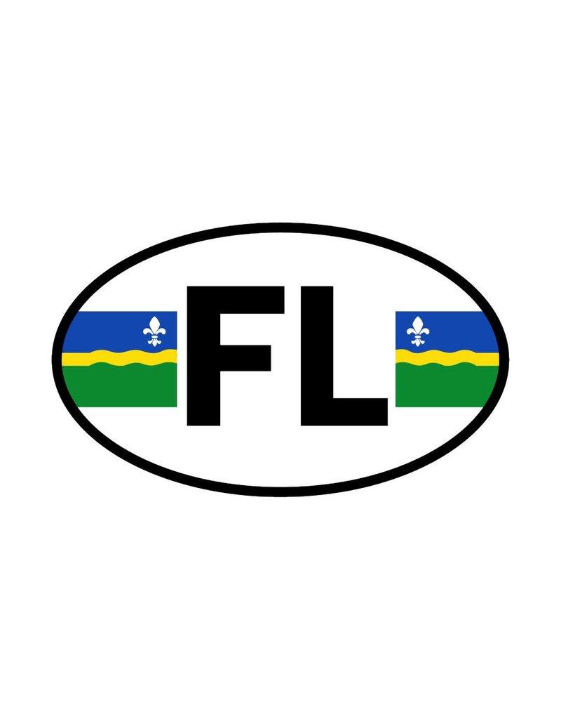 Flevoland Provinzaufkleber