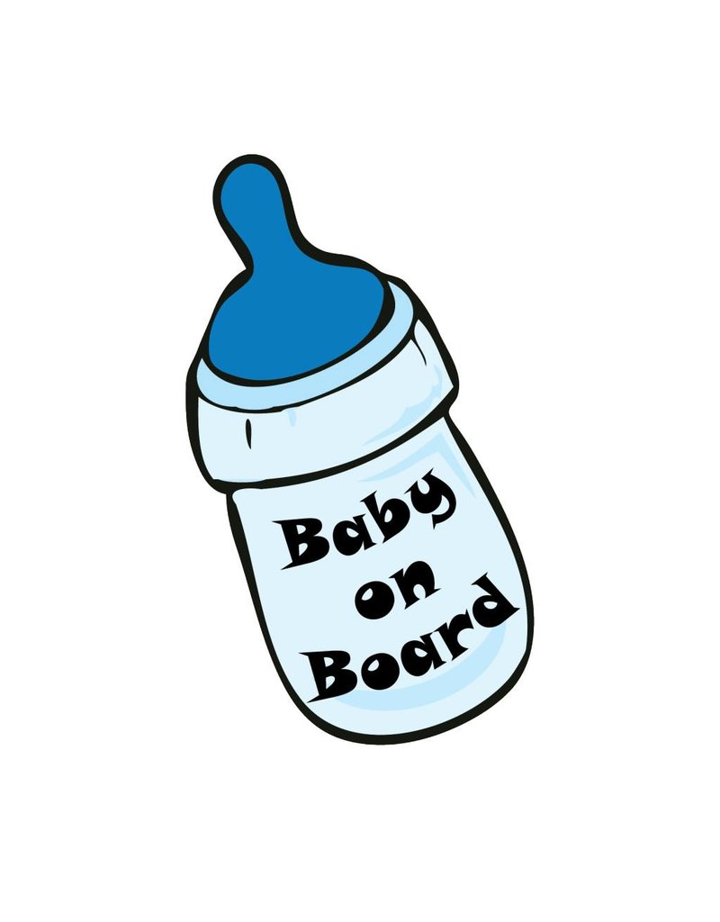 Baby on Board botella chico