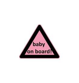 Bébé à bord triangle fille