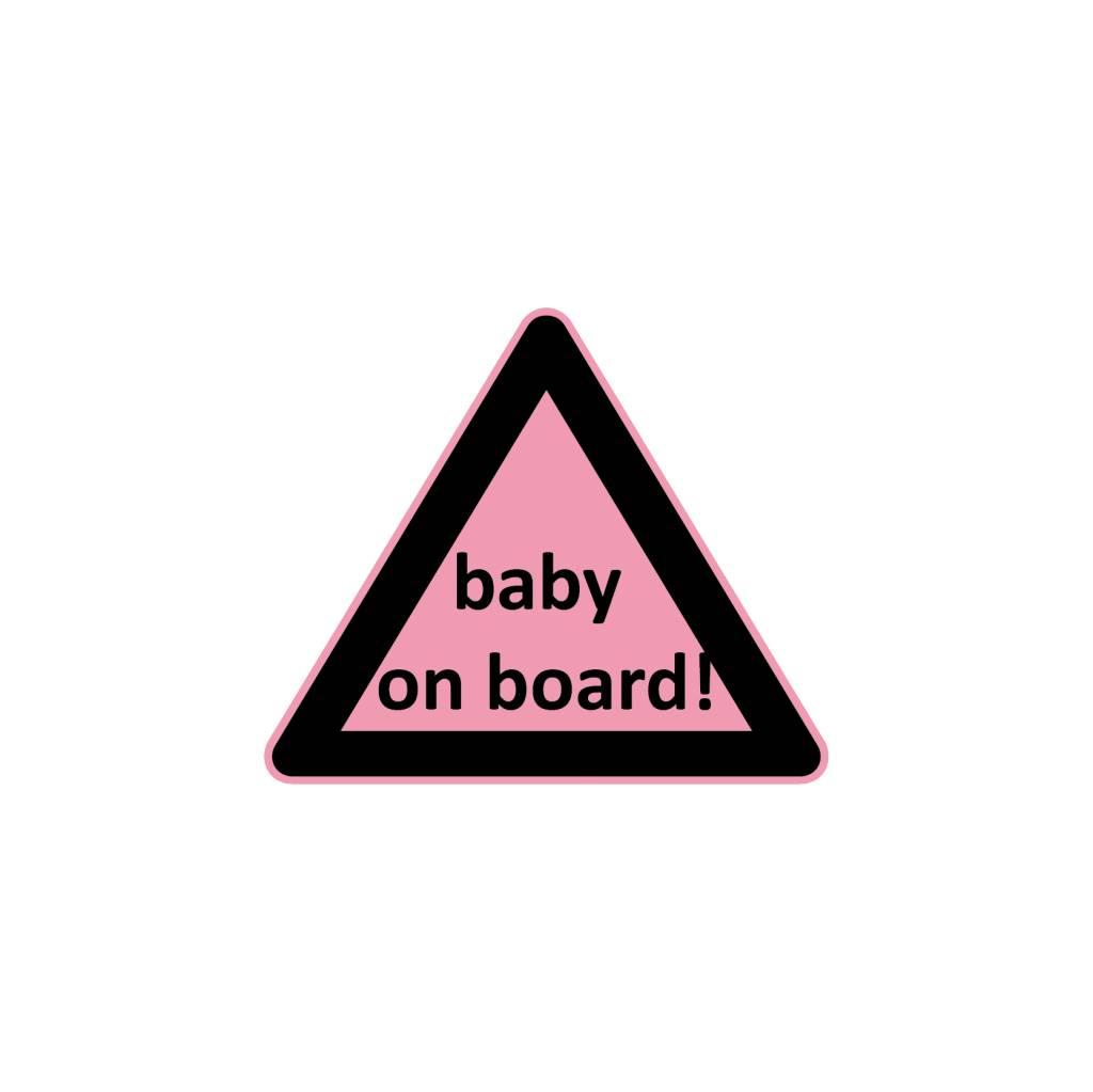Baby on Board Dreieck Mädchen