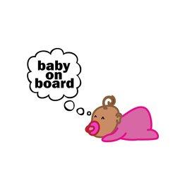 Baby on Board deseando chica