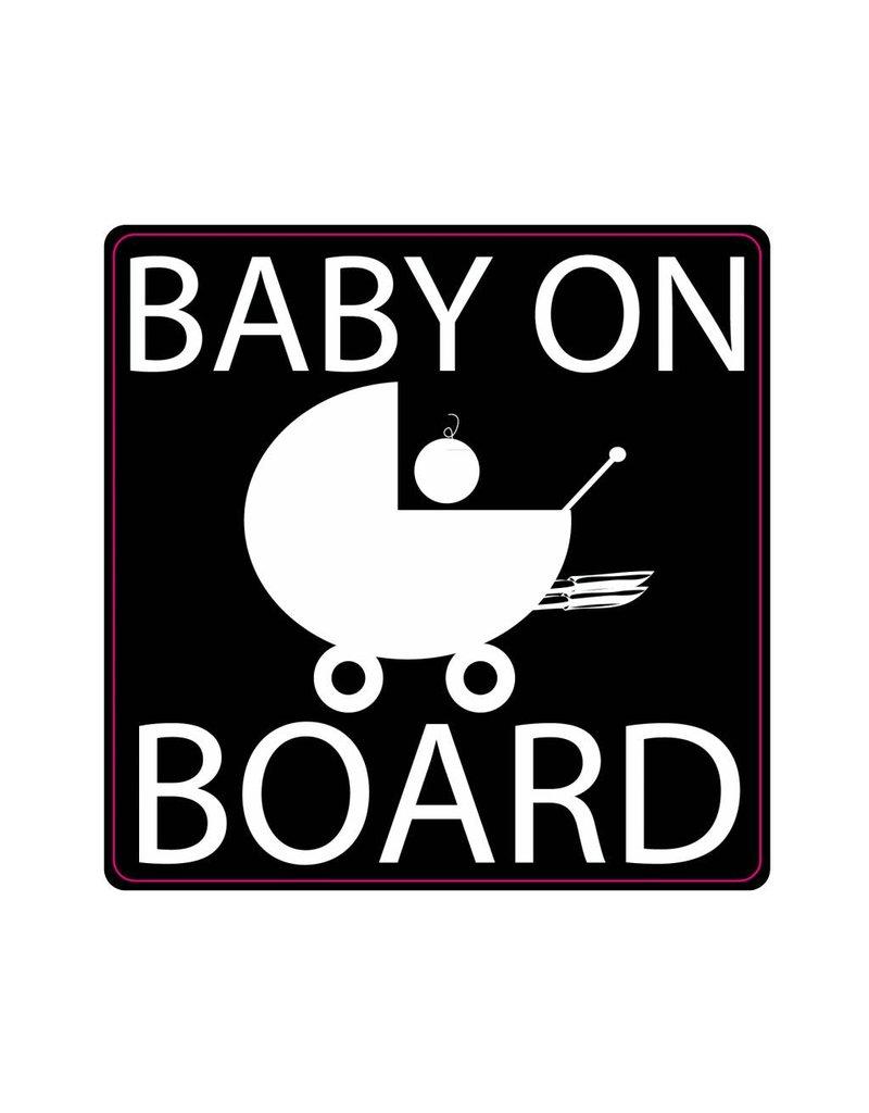 Baby on Board coche de niño
