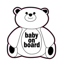 Baby on Board bear