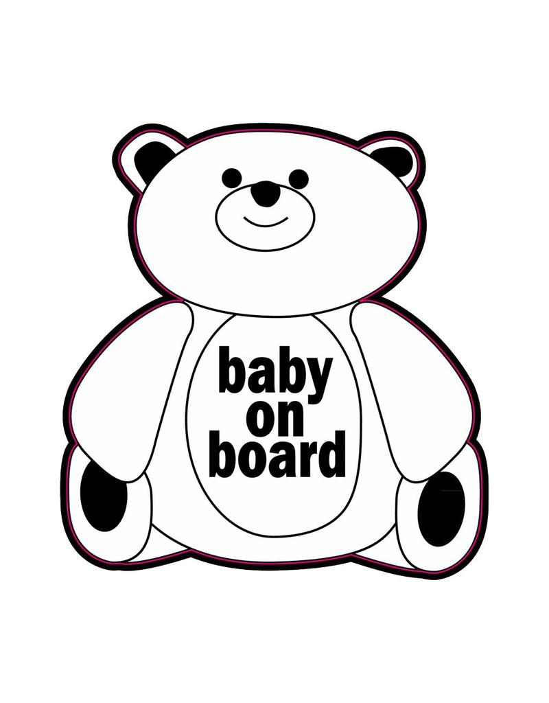 Baby on Board bear