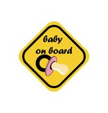 Baby on board meisje