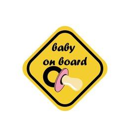 Baby on board Mädchen