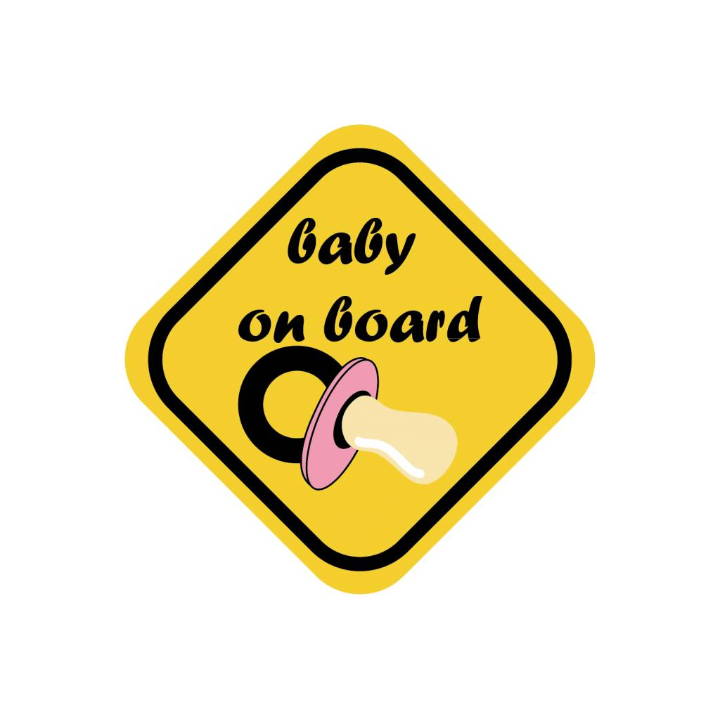 Baby on board chica