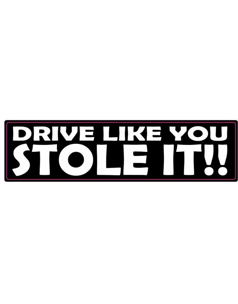 Autocollant pare-chocs stole it