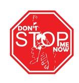 """Auto sticker don't stop me """"white"""""""