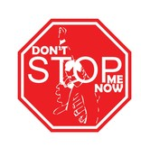 """Car sticker don't stop me """"white"""""""