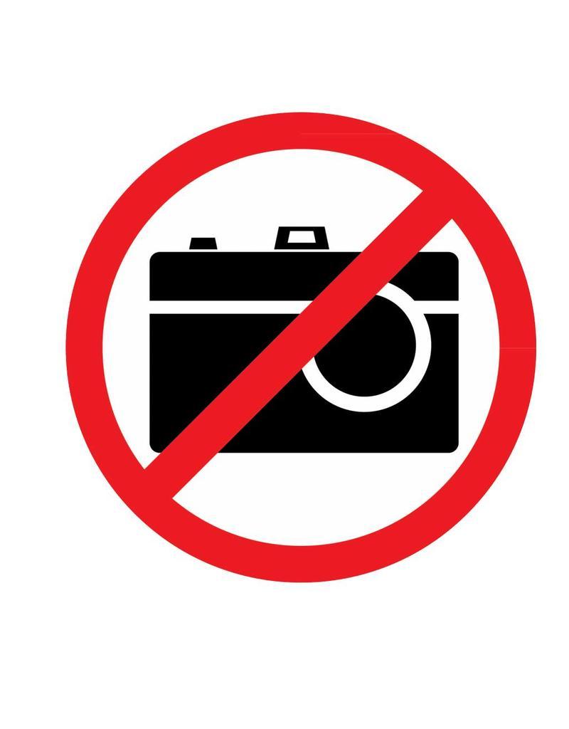 Autosticker no camera
