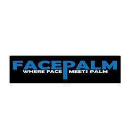 Bumper stickers facepalm